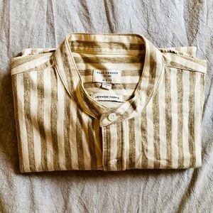 Club Monaco mandarin collar dress shirt